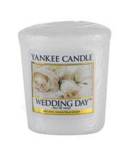 Yankee Candle Wedding Day, aromatizuota žvakė moterims ir vyrams, 49g