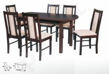 Stalas WENUS-P IV + 6 kėdės BOSS XIV