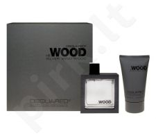 Dsquared2 He Wood Silver Wind Wood rinkinys vyrams, (EDT 50ml + 100ml dušo želė)