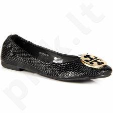 WISHOT r15-d-p-528-bk juodos balerinos