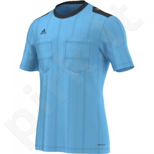 Marškinėliai teisėjams Adidas UCL Referee JSY trumpomis rankovėmis M AH9815