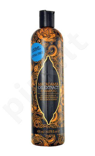 Xpel Macadamia Oil Extract šampūnas, kosmetika moterims, 400ml