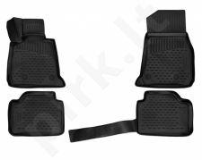 Kilimėliai 3D BMW 3 F30, F31 2011-> black /L04029