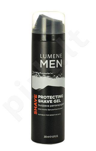 Lumene Men Shave Protecting Shave gelis, kosmetika vyrams, 200ml