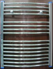 Džiovintuvas-kopetėlės chromuotos lenktos 770x600
