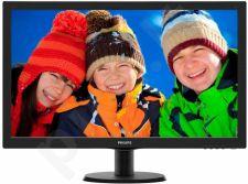 Monitorius Philips V-line 273V5LHSB/00 27'' LED Full HD,HDMI,EPEAT Silver,ES 6.0