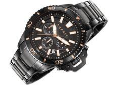 Esprit ES107511003 Mack Midnight vyriškas laikrodis-chronometras