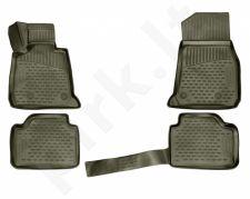 Kilimėliai 3D BMW 3 F30, F31 2011-> gray /L04029G