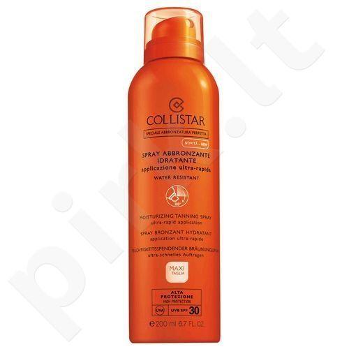 Collistar Moisturizing įdegio purškiklis SPF30, kosmetika moterims, 200ml