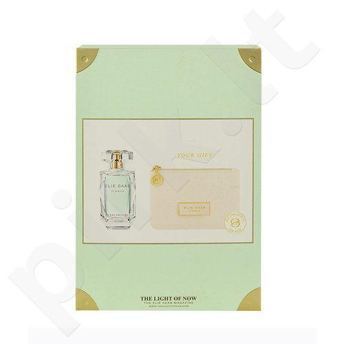 Elie Saab Le Parfum L´Eau Couture rinkinys moterims, (EDT 50ml + kosmetika mini-krepšys)
