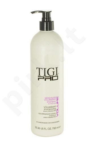 Tigi Pro Weightless Volumizing šampūnas, kosmetika moterims, 750ml