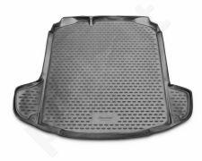 Guminis bagažinės kilimėlis SKODA Rapid 2013-2016 sedan black /N35009