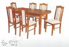 Stalas WENUS-P IV + 6 kėdės BOSS II