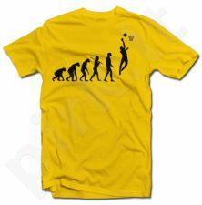 """Marškinėliai """"Krepšinio evoliucija"""""""
