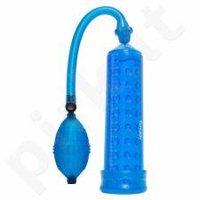 Penio pompa su stimuliuojančia mova - Mėlyna