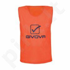 Skiriamieji marškinėliai Givova oranžinis