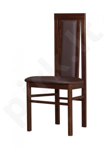 Kėdė KB riešuto / eko oda