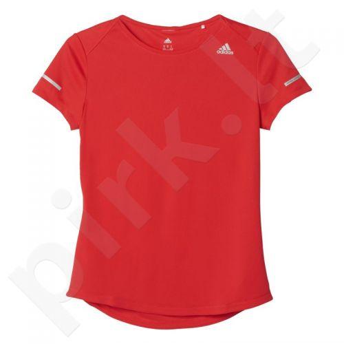 Marškinėliai bėgimui  Adidas Sequencials Climalite Run Tee W AX7541