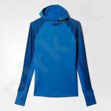 Bliuzonas  treniruotėms Adidas Techfit Coldweather Pullover with Hood W S94439
