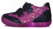 Auliniai D.D. step violetiniai led batai 25-30 d.0504bm