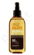 Piz Buin Wet Skin Transparent Sun purškiklis SPF30, kosmetika moterims, 150ml