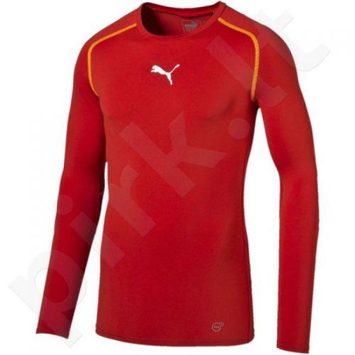Marškinėliai treniruotėms Puma TB Longsleeve Shirt Tee M 65461201