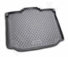 Guminis bagažinės kilimėlis SKODA Roomster 2006-2015 black /N35010