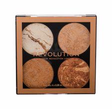 Makeup Revolution London Cheek Kit, skaistinanti priemonė moterims, 8,8g, (Don´t Hold Back)