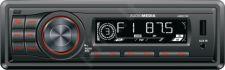 Car Radio Audiomedia AMR215R, SD USB FM 4x20W, removable panel (red backlight)