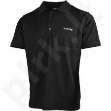 Marškinėliai polo Hi-Tec Baden M juoda