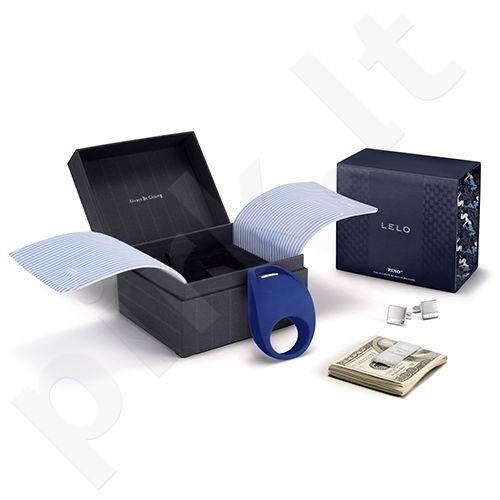 Vibruojantis penio žiedas LELO Pino Federal (mėlyna)