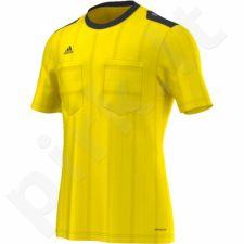 Marškinėliai teisėjams Adidas UCL Referee JSY trumpomis rankovėmis M AH9814
