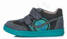 D.D. step tamsiai pilki batai 22-27 d. da031356