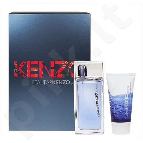 Kenzo (EDT 50 ml + dušo želė 50 ml) L´eau par Kenzo, rinkinys vyrams