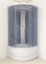 Dušo kabina R8804B grey/white