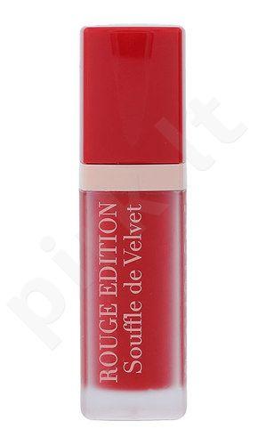 BOURJOIS Paris Rouge Edition Souffle de Velvet Lūpų dažai, kosmetika moterims, 7,7ml, (06 Cherry Leaders)