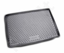 Guminis bagažinės kilimėlis SKODA Yeti  2009-2017 black /N35003