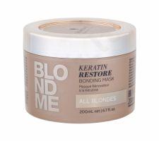 Schwarzkopf Blond Me, Keratin Restore, plaukų kaukė moterims, 200ml