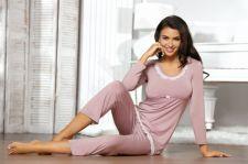 Pižama TELIA (magnolijos spalvos)