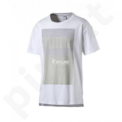 Marškinėliai Puma Evo Longer Line Logo Tee M 57056802