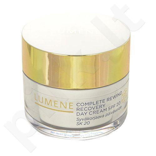 Lumene Complete Rewind Recovery dieninis kremas SPF20, kosmetika moterims, 50ml