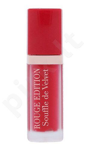 BOURJOIS Paris Rouge Edition, Souffle de Velvet, lūpdažis moterims, 7,7ml, (07 Plum Plum Pidou)