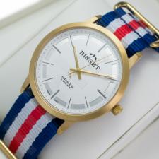 Vyriškas laikrodis BISSET TITANIUM BSFE42GISX05BX