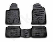 Guminiai kilimėliai 3D TOYOTA Avensis 2003-2009, 4 pcs. /L62033