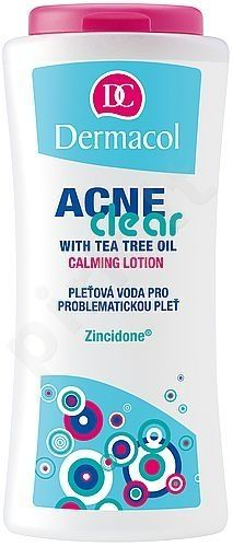 Dermacol AcneClear Calming Lotion, 200ml, kosmetika moterims
