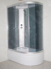 Dušo kabina R8106 kairė grey/white