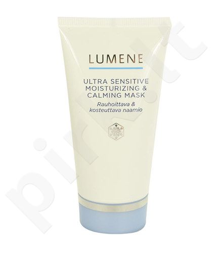 Lumene Ultra Sensitive Moisturizing & Calming Mask, kosmetika moterims, 75ml