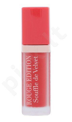 BOURJOIS Paris Rouge Edition Souffle de Velvet Lūpų dažai, kosmetika moterims, 7,7ml, (03 VIPech)