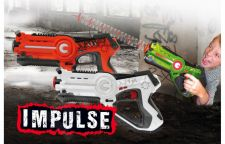 Jamara Impulse Laser Battle Set  White Orange