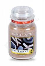 Yankee Candle Seaside Woods, aromatizuota žvakė moterims ir vyrams, 623g